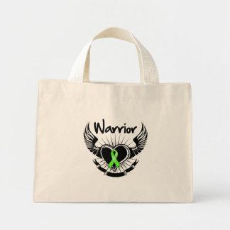 Non-Hodgkins Lymphoma Warrior Fighter Wings Canvas Bag