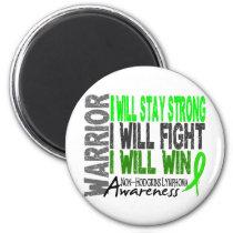 Non-Hodgkins Lymphoma Warrior Magnet