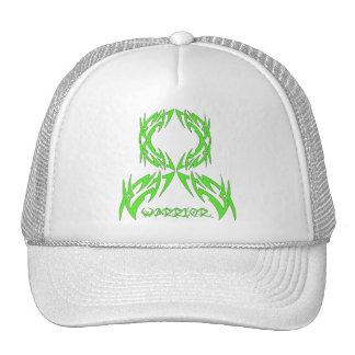 Non-Hodgkins Lymphoma Warrior Tribal Ribbon Hats