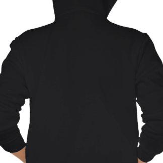 Non-Hodgkins Lymphoma Warrior Tribal Ribbon Hooded Sweatshirt