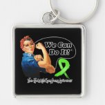Non-Hodgkins Lymphoma We Can Do It Rosie The Rivet Key Chains