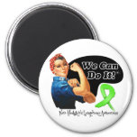 Non-Hodgkins Lymphoma We Can Do It Rosie The Rivet Fridge Magnets