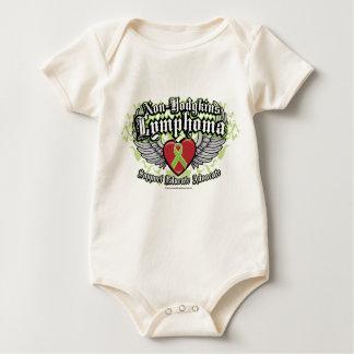 Non-Hodgkins Lymphoma Wings Baby Bodysuit