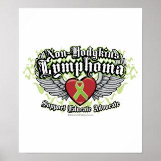 Non-Hodgkins Lymphoma Wings Print
