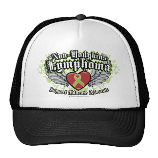 Non-Hodgkins Lymphoma Wings Trucker Hat