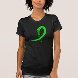 Non-Hodgkin's Lymphoma's Lime Green Ribbon A4 T-Shirt
