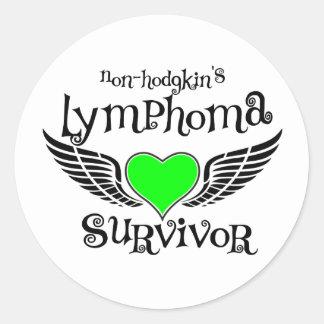 Non-Hodgkin's Survivor Round Sticker