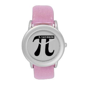 Non-Irrational Pi 3.14 Watch (pink glitter)