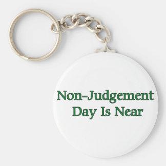 Non-Judgement Day Is Near Keychain