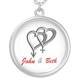 Non Lifestyle Name tag Silver Plated Necklace