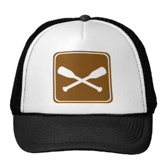 Non-Motorized Boating Highway Sign Trucker Hat