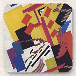 Non-objective Composition by Olga Rozanova Coaster