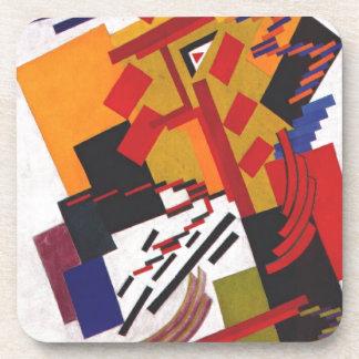 Non-Objective Composition by Olga Rozanova Drink Coaster
