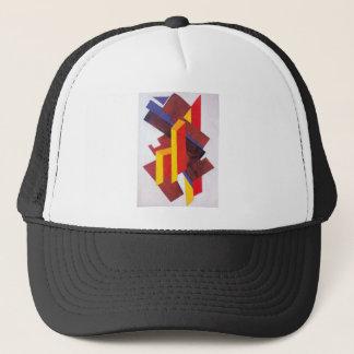 Non-Objective Composition by Olga Rozanova Trucker Hat