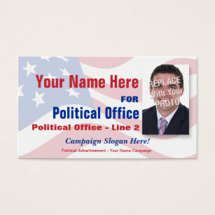 Political business cards 1000 political business card templates non partisan political election campaign business card colourmoves