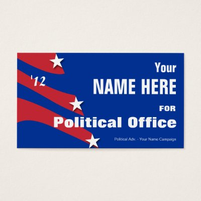 Political campaign non partisan printed candidate business card political campaign non partisan printed candidate business card zazzle colourmoves