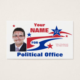 Political campaign business cards templates zazzle non partisan political election campaign business card colourmoves