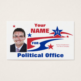 Non-Partisan Political Election Campaign Business Card