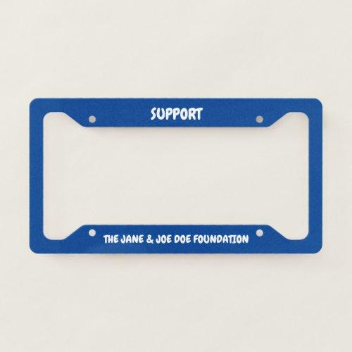 Non_Profit License Plate Frame