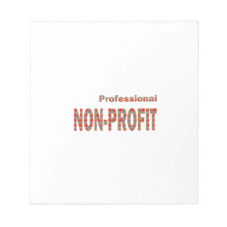 NON-PROFIT Professional Charity NGO Causes GIFTS A Note Pad