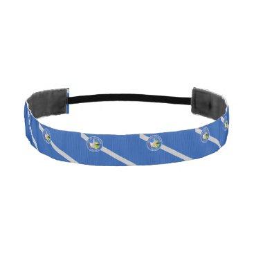 Non-Slip Headband with Flag of Las Vegas, USA