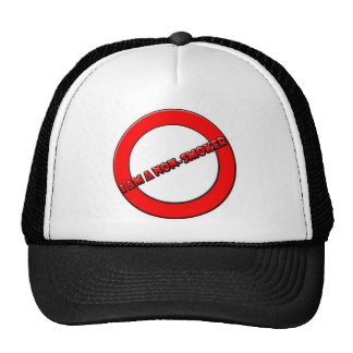 Non-smoker Mesh Hats