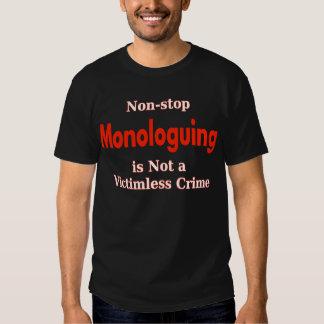 Non-stop Monologuing 002 Tee Shirt