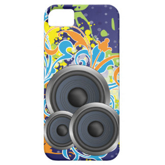 non stop music stylish with speakers iPhone SE/5/5s case