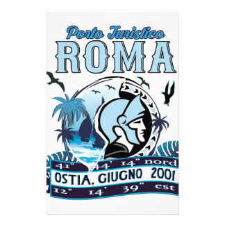 Non ufficial logo of Port of Rome Stationery