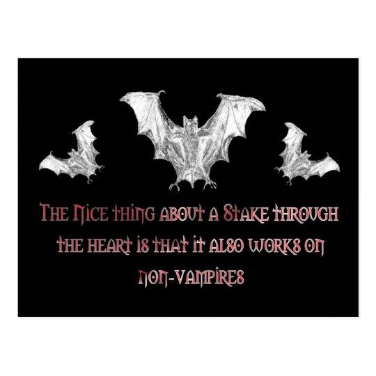 Non-Vampires Postcard