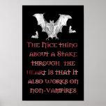 Non-Vampires Posters