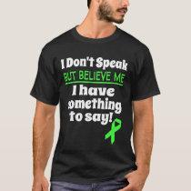 Non-Verbal Awareness Cerebral Palsy Brain Damage T-Shirt