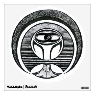 Non-Violence Abstract Mandala | Wall Decal