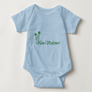 Non-Violence Baby Bodysuit