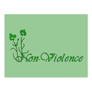 Non-Violence Postcard