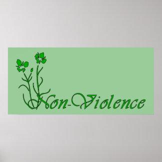 Non-Violence Poster