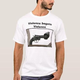 non-violence, Violence begets Violence T-Shirt