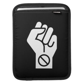 Non-Violent Protest Pictogram iPad Sleeve