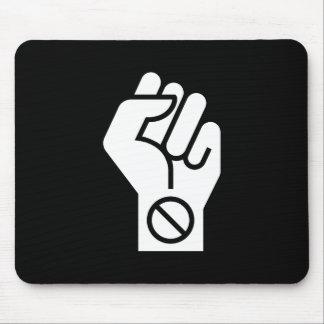 Non-Violent Protest Pictogram Mousepad