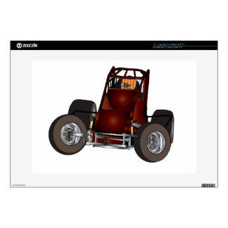 "Non-wing sprint car #1 15"" laptop skins"
