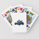 Non-Winged Sprint Car Bicycle Playing Cards