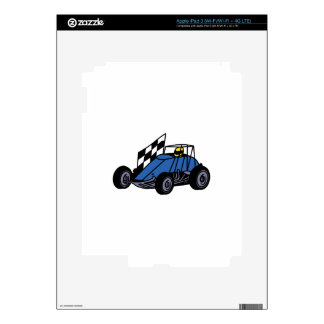 Non-Winged Sprint Car iPad 3 Skins