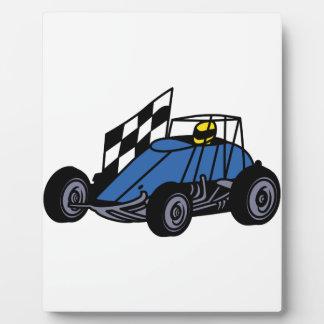 Non-Winged Sprint Car Plaque