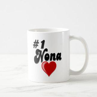 Nona #1 - Celebre el día del abuelo Taza De Café