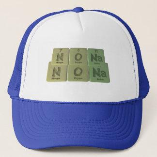 Nona  as Nitrogen Oxygen Sodium Trucker Hat