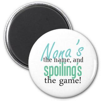 Nona' s el nombre, y Spoiling' s el jueg Imanes