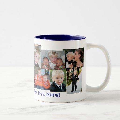 nona Two-Tone coffee mug