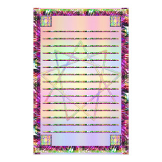 Nonagram Rainbow Lined Stationary Stationery Paper