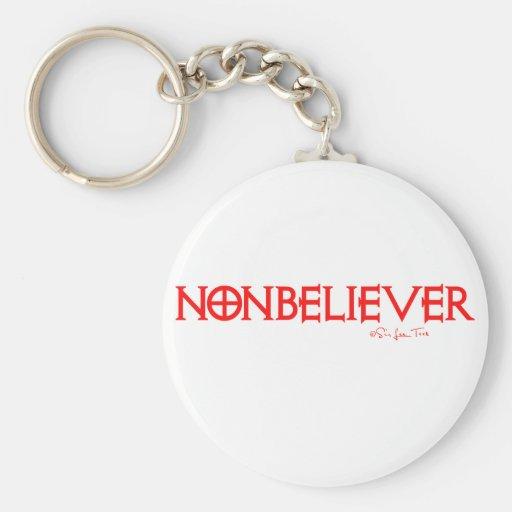 Nonbeliever 1 llaveros