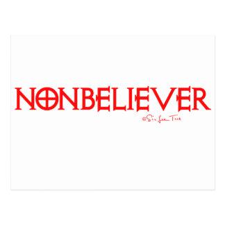 Nonbeliever 1 tarjetas postales